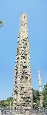 Konstantinos VII pylväs Istanbul