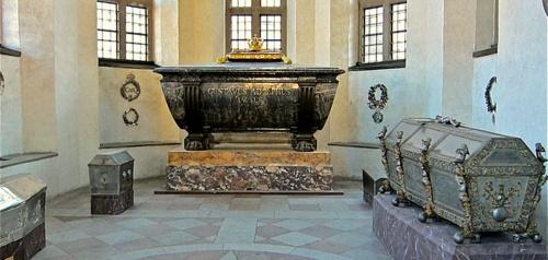 Kustaa II Aadolf sarkofagi Riddarholmenin kirkko Tukholma