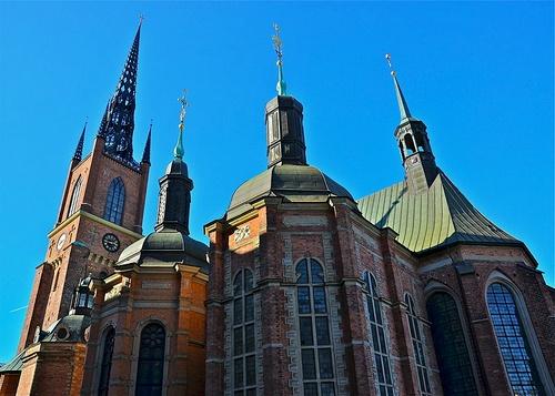 Kustavilainen hautakuori Riddarholmenin kirkko Tukholma