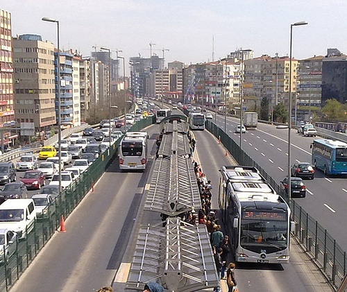 Metrobus Istanbul