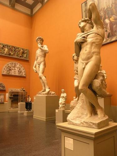 Michelangelon David-patsas Victoria and Albert Museum Lontoo