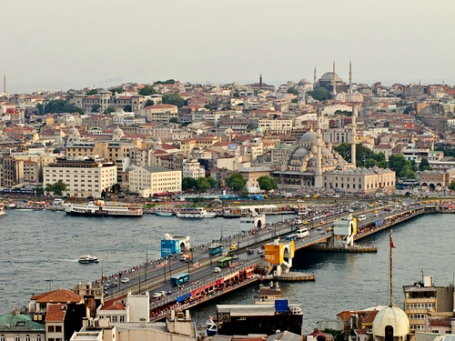 Näkymä Galatan tornista Istanbulissa