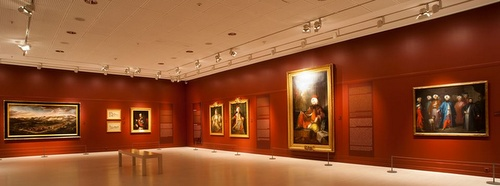 Orientalismi-taide näyttely Pera museo Istanbul