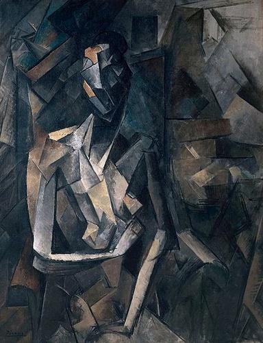 Pablo Picasso Figure dans un fauteuil Tate Modern