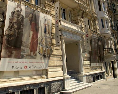Pera taidemuseo Istanbul