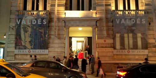 Pera Muzesi Istanbul julkisivu