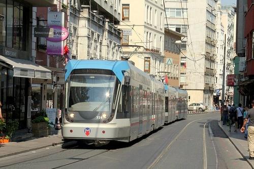 Raitiovaunu Istanbul