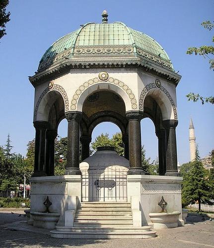 Saksalainen suihkukaivo Istanbul
