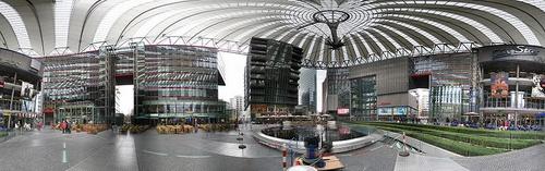 Sony Center Potsdamer Platz Berliini