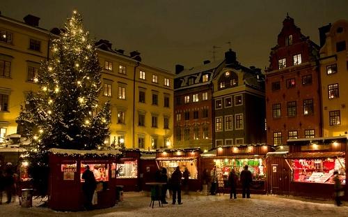 Tukholman vanhankaupungin joulumarkkinat Stortorg