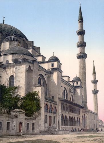 Suleymaniyen moskeija Istanbul