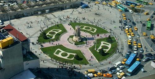 Taksim aukio Istanbul