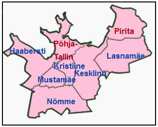 Tallinnan kaupunginosat
