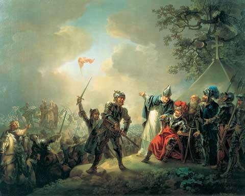 Tanskan lippu 1219 Christian August Lorentzen Tallinna