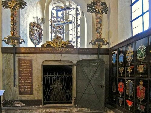 Torstensonilainen hautakuori Riddarholmenin kirkko Tukholma