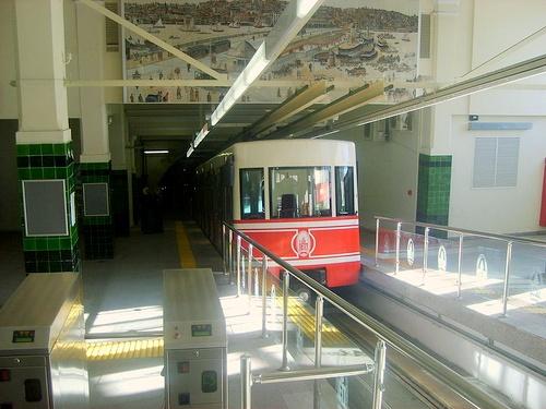 Tünel funikulaari Istanbul