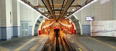 Tunel funikulaari Istanbul