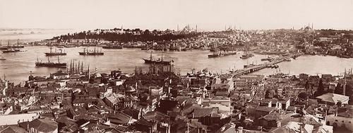 Vanhan Istanbulin valokuvat kokoelma Pera museo