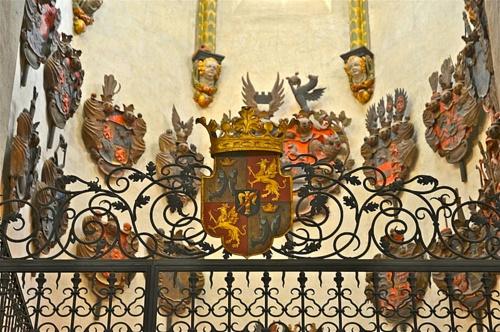 Vasaborglainen hautakuori Riddarholmenin kirkko Tukholma