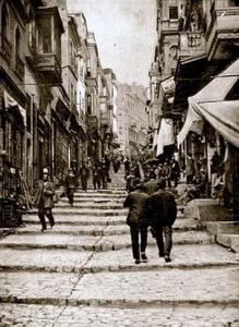 Yüksek Kaldırım katu 1890 Istanbul