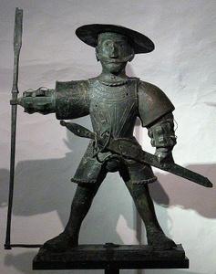 Alkuperäinen vuoden 1530 Vana Toomas tuuliviiri Tallinna