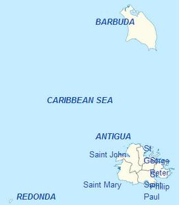 Antiguan ja Barbudan hallintopiirit