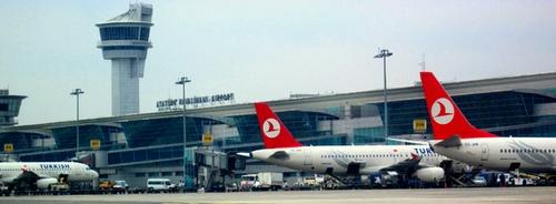 Ataturk kv. lentokenttä Istanbul