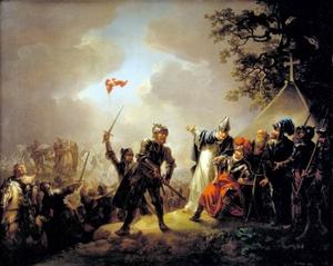 Dannebrog 1219 maalaus Tallinna