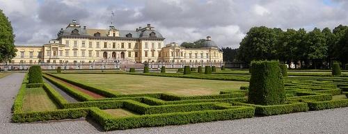 Drottningholmin linnan puutarhat