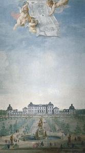 Drottningholmin palatsi 1740 maalaus