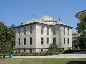 Enderun kirjasto Topkapin palatsi Istanbul