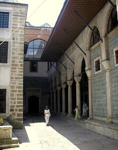 Eunukkien sisäpiha Topkapi-palatsi Istanbul