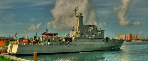 HMBS Bahamas alus Nassaussa