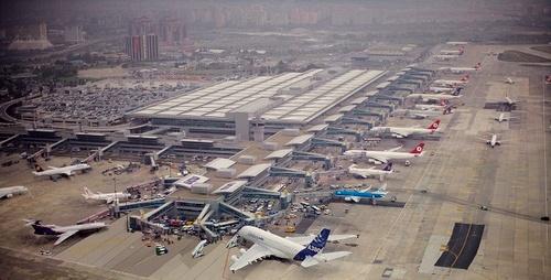 Istanbul-Ataturkin kv. lentokenttä