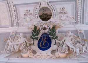 Kadriorgin palatsin päähalli Tallinna