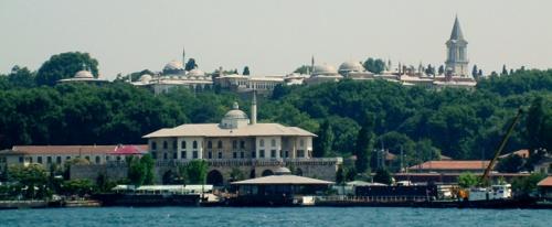 Korinrakentajien kioski Topkapi-palatsi Istanbul
