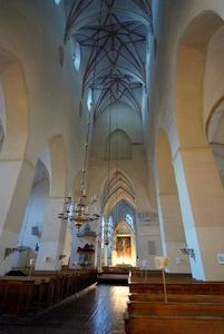 Olevisten kirkko Tallinna sisältä