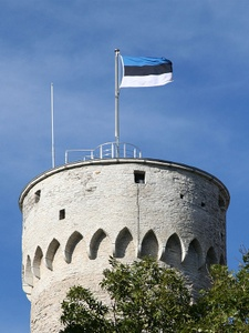 Pikk Hermann torni Toompean linna Tallinna