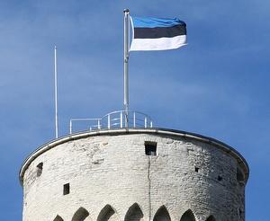 Pikk Hermann Viron lippu Tallinna