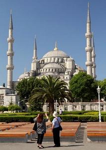 Sulttaani Ahmedin moskeija Istanbul