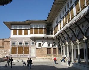 Suosikkien sisäpiha Topkapi-Palatsi Istanbul