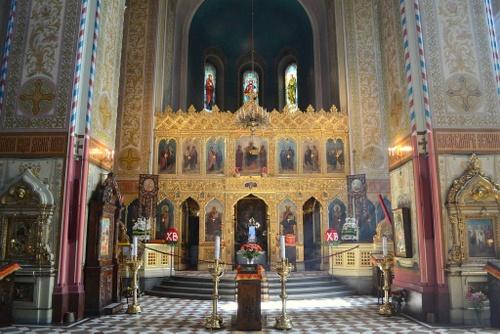 Tallinnan Aleksanteri Nevskin katedraalin sisätilat