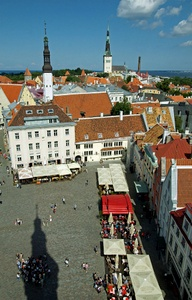 Tallinnan raatihuoneen torni näkymät