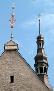 Tallinnan raatihuoneen torni Vana Toomas tuuliviiri
