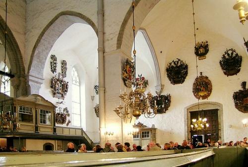 Tallinnan tuomiokirkon sisätilat