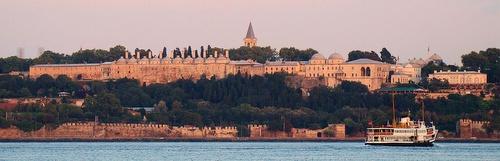 Topkapi-palatsi Istanbulissa