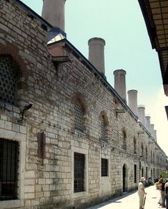 Topkapin palatsin keittiöt Istanbul