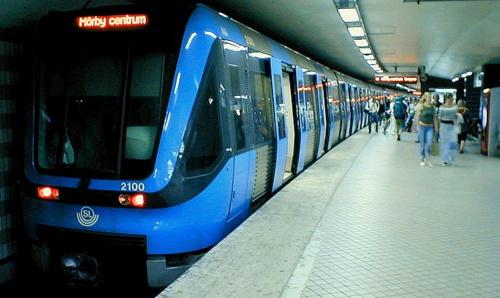 Tukholman metron C20 junanvaunu
