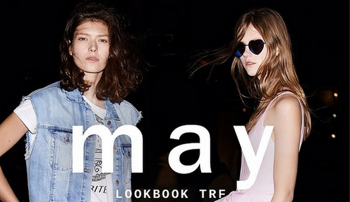 Zara Lookbook May 2014