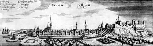 1600-luvun Tallinna - Reval